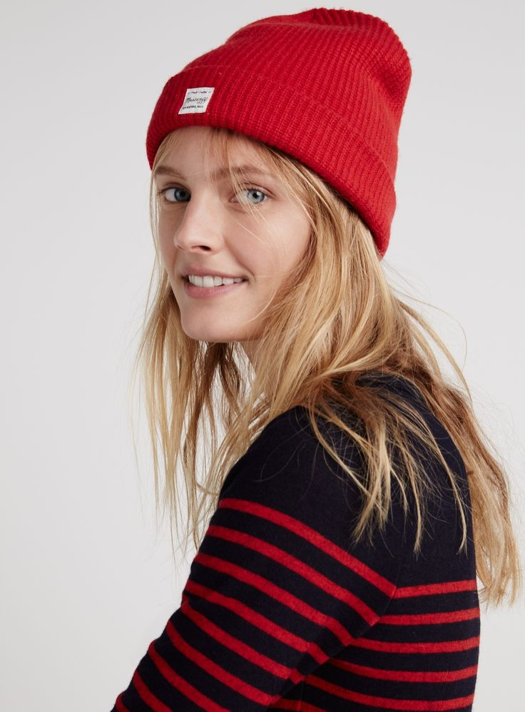 Constance Jablonski - Madewell Does Cold Weather Dressing