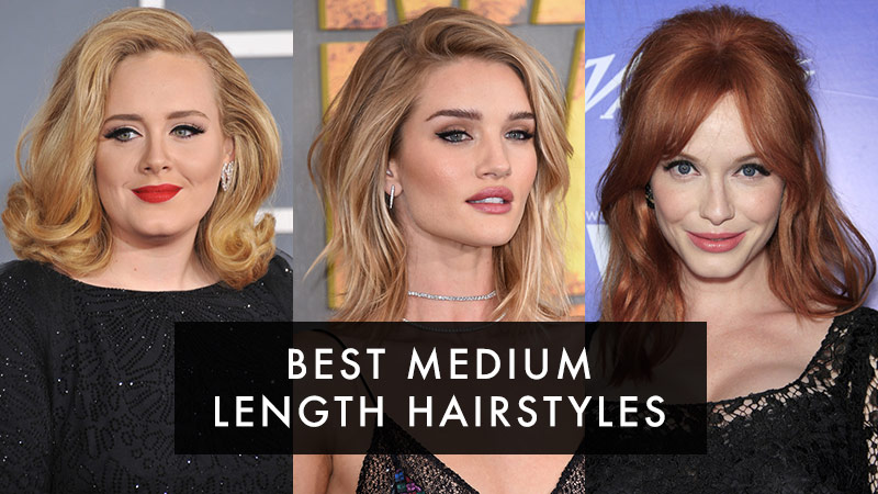 Best Medium Length Hairstyles: Medium Hairstyles for Women