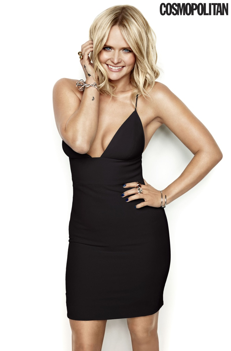 Miranda Lambert Rocks the LBD in Cosmopolitan Cover Story