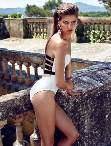 Moeva London Unveils Spring '16 Swim Campaign by Xavi Gordo