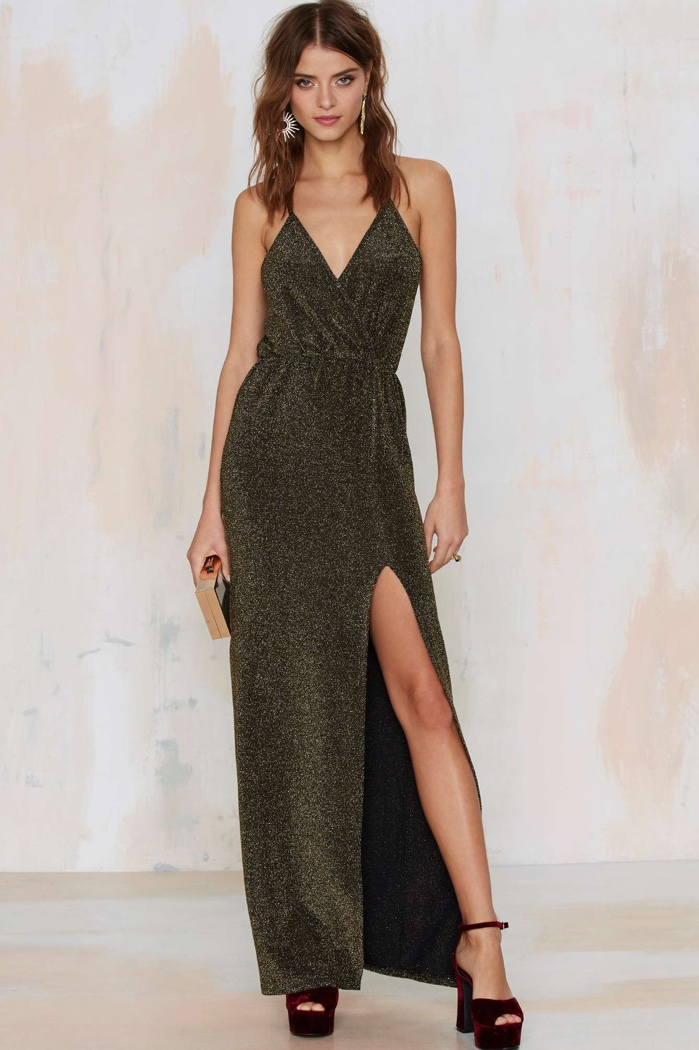 All That Glitters: 6 Sparkly Maxi Dresses