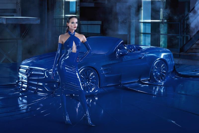 Natasha Poly stars in Mercedes-Benz fall-winter 2016 campaign