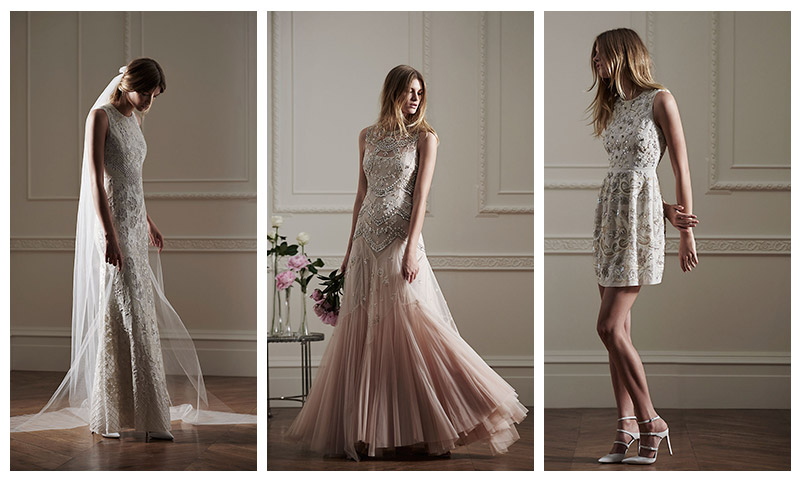 See The Gorgeous Dresses From Needle & Thread`s Debut Bridal Collection
