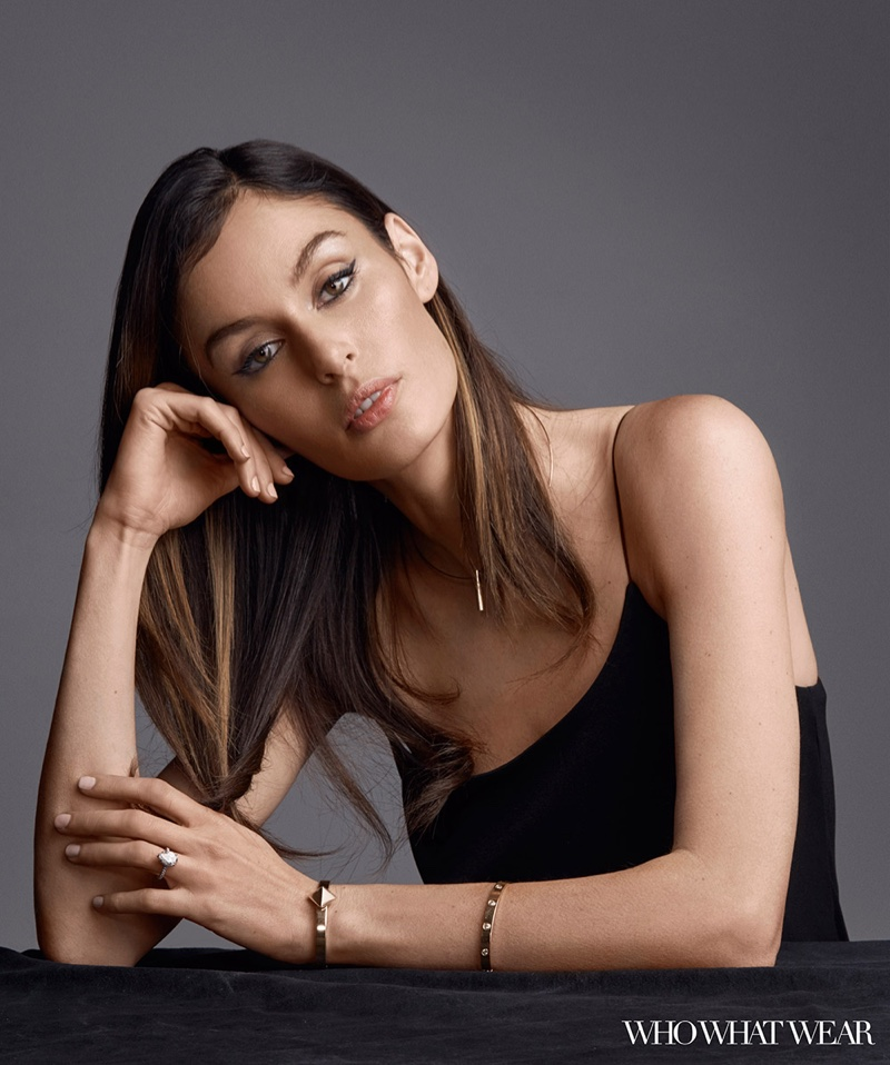 Nicole Trunfio Shows How to Accessorize the LBD in Who What Wear Shoot