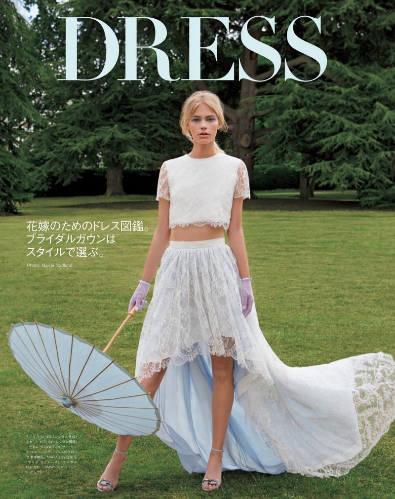 The princess wore pastels vogue japan embraces colorful bridal the princess wore pastels vogue japan embraces colorful bridal fashion ombrellifo Image collections