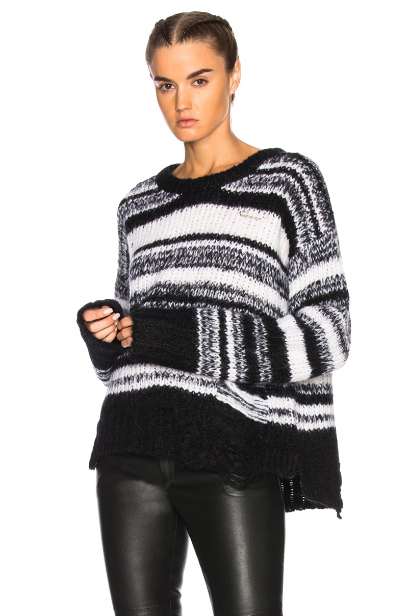 Raquel Allegra Stripe Lofty Sweater $595