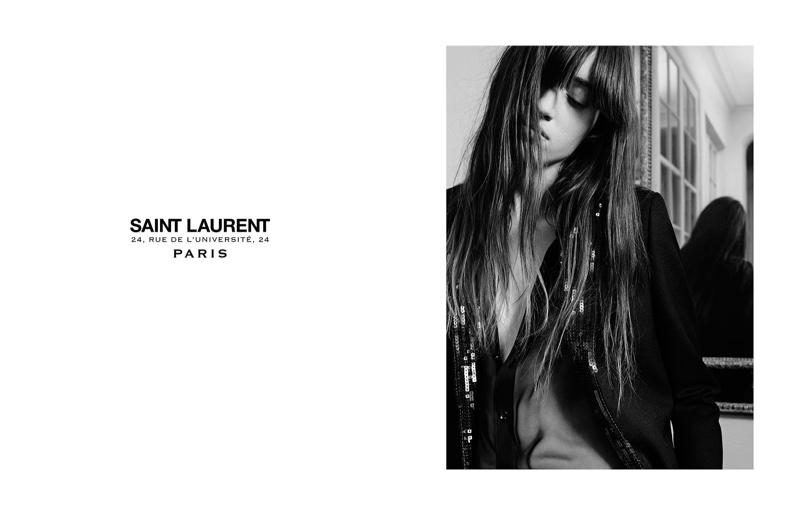 Saint Laurent Permanent 2016 Campaign