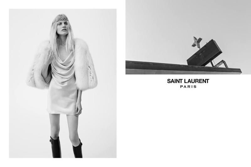 Saint Laurent Serves Glam Grunge With Spring Ads