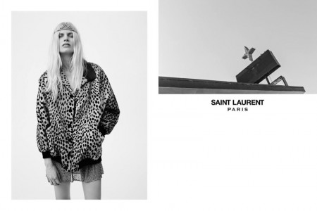 An image from Saint Laurent's spring-summer 2016 campaign