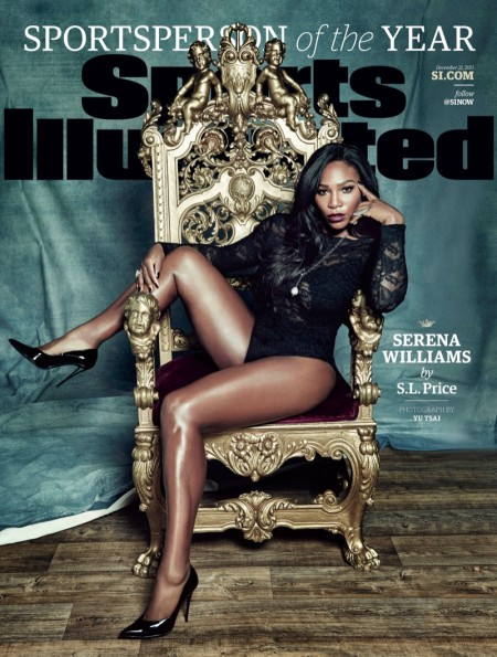 Serena Williams Rocks a Lace Bodysuit on SI's Sportsperson of the Year Cover