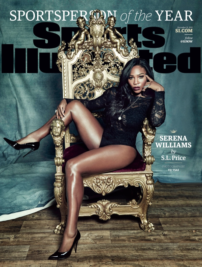 Serena Williams on Sports Illustrated December 21, 2015 cover