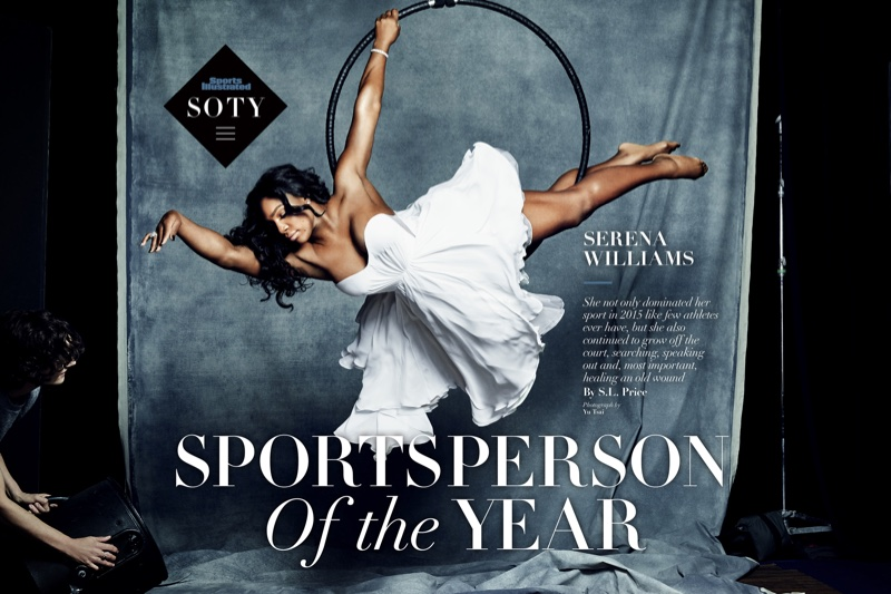 Serena Williams named 2015 Sportsperson of the Year by Sports Illustrated