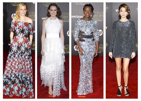 'Star Wars: The Force Awakens' LA Premiere Style: Lupita Nyong'o, Daisy Ridley + More