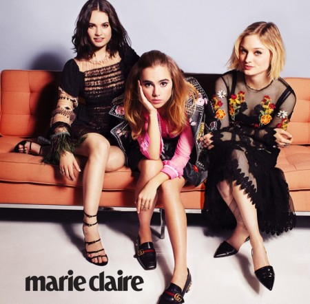 'Pride and Prejudice and Zombies' Stars Lily, Suki & Bella Land Marie Claire Covers