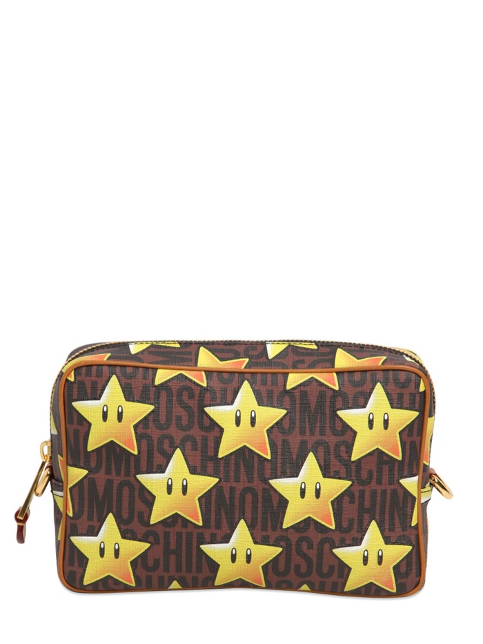 Super Moschino Star Print Bag