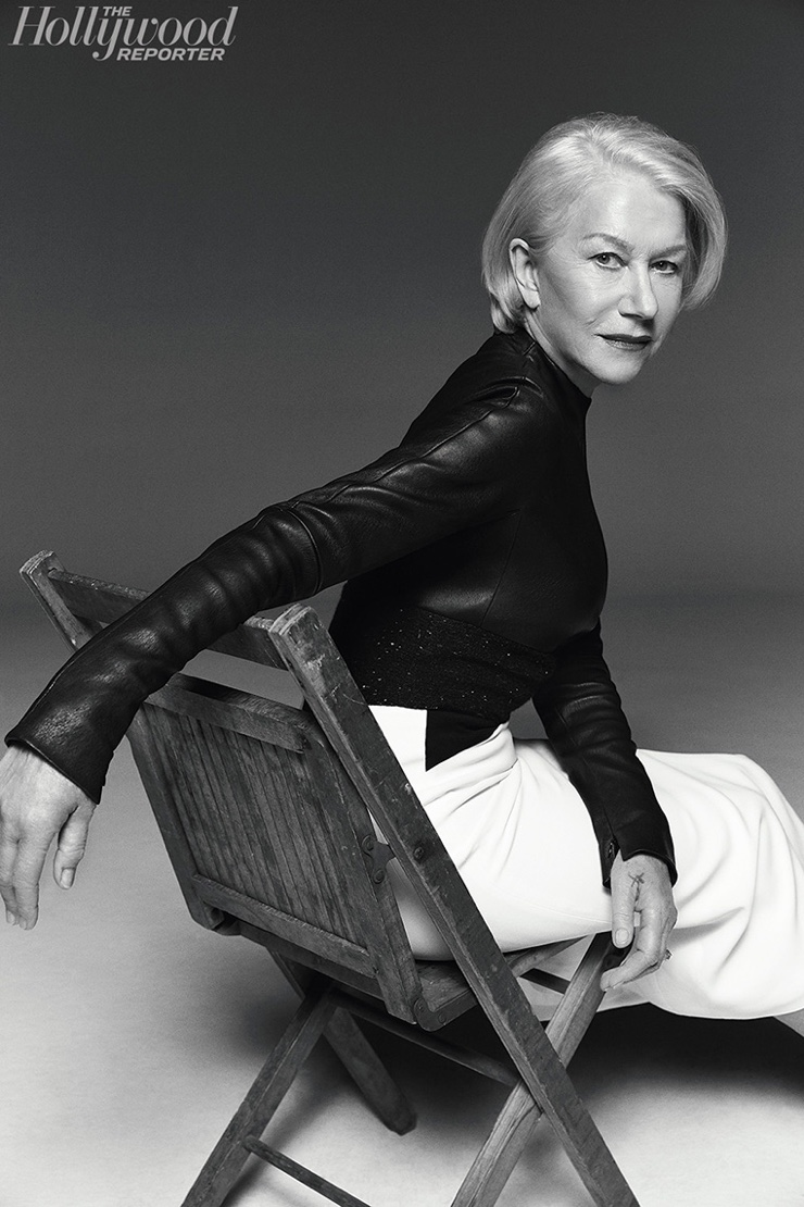 Helen Mirren for The Hollywood Reporter