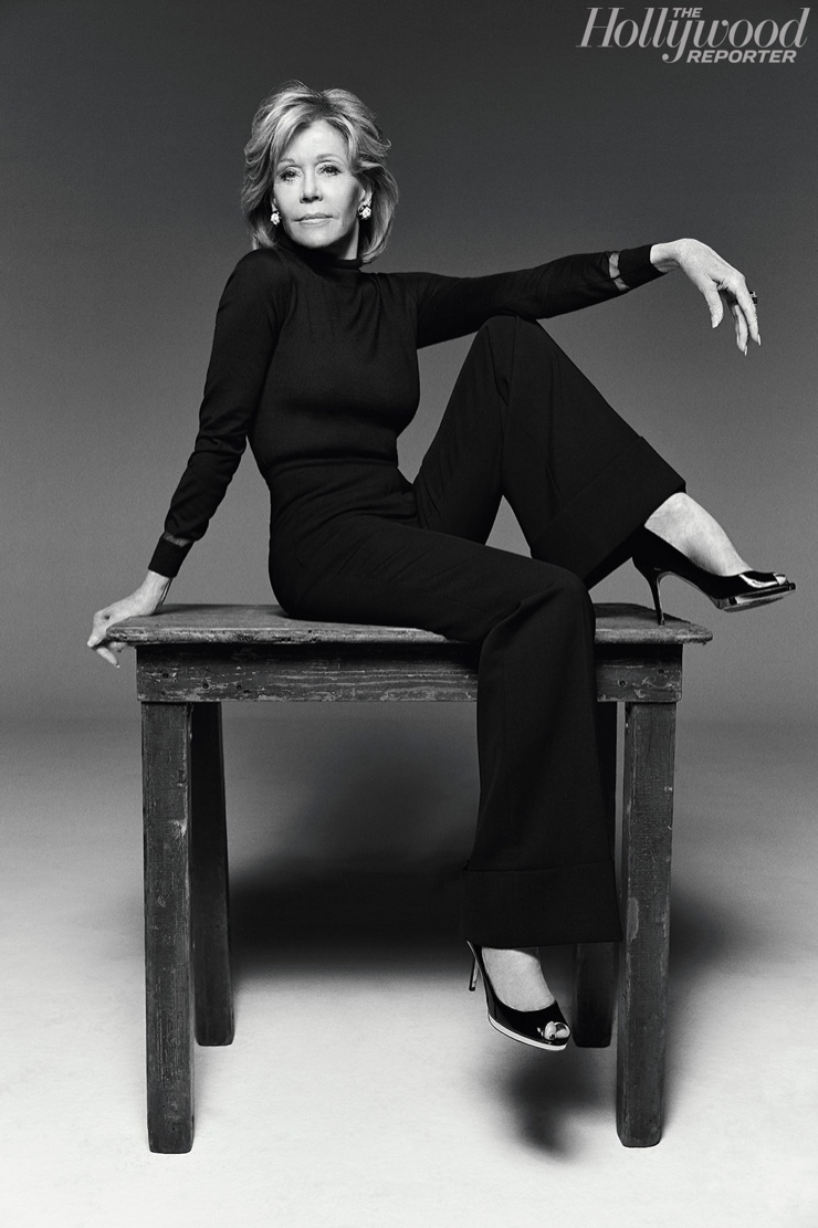 Jane Fonda for The Hollywood Reporter