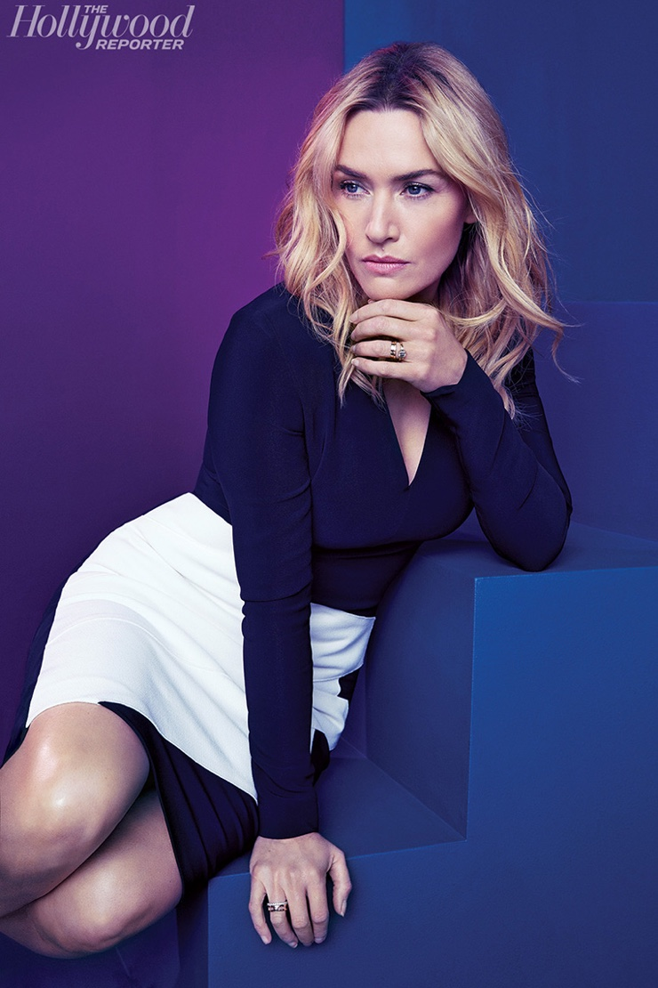 Kate Winslet for The Hollywood Reporter