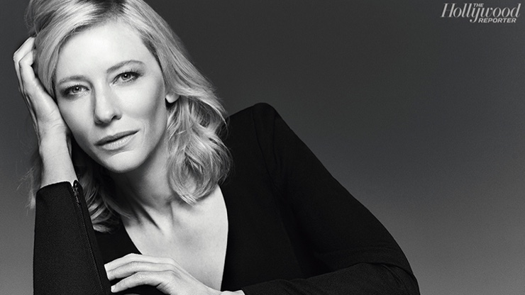 Cate Blanchett for The Hollywood Reporter