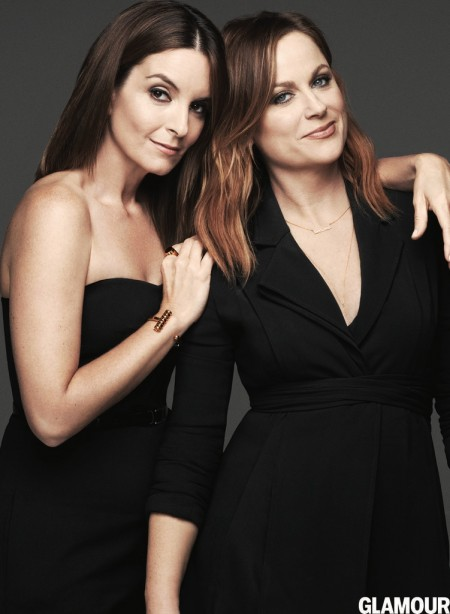 Tina Fey & Amy Poehler Star in Glamour, Talk Working Together on 'Sisters'