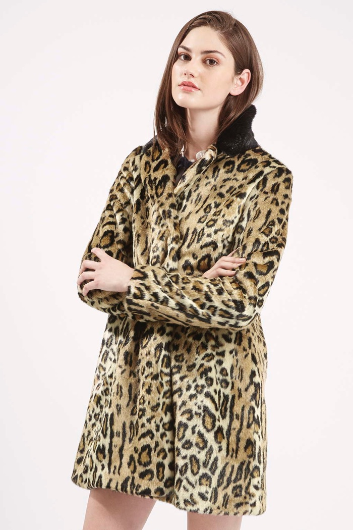 70s Leopard Print Coat/ Faux Fur Leopard Print Coat/ Brown Leopard Print/ Penny Lane Coat/ Faux Fur Collar and Cuffs/ Peacoat/ Jacket Safari AttackHeartVintage. 5 out of 5 stars () $ Favorite Add to See similar items + More like.