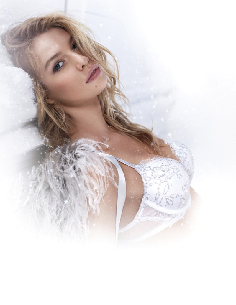 Stella Maxwell for Victoria's Secret Ice Angel campaign