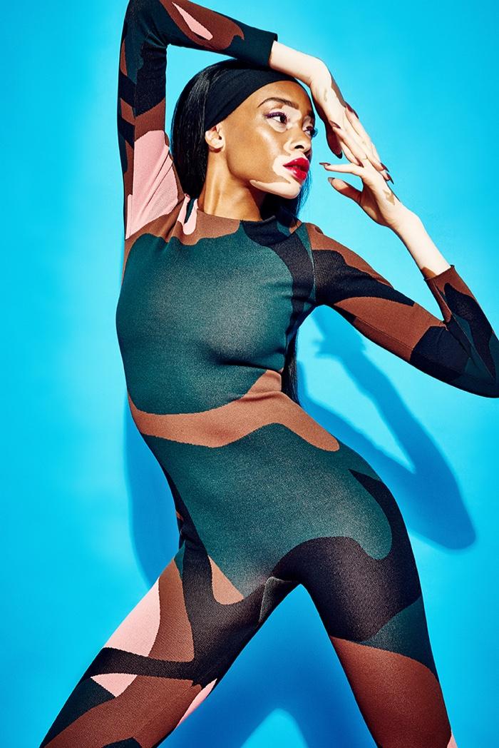 Winnie Harlow Rocks Dior For GQ Portugal November 2015 Shoot By Branislav Simoncik