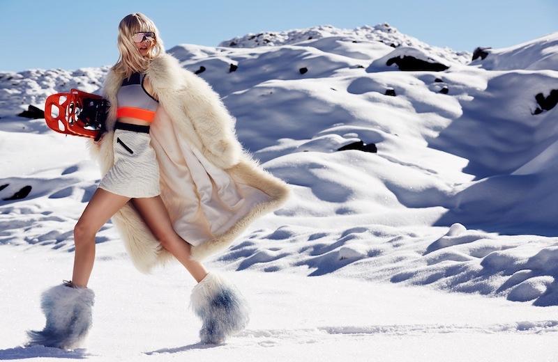 Let's Ski: Myself Magazine Spotlights Snow Ready Fashion