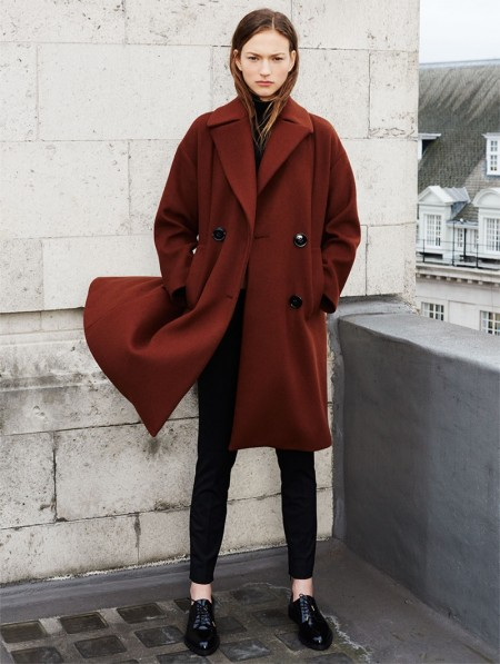 Zara showcases its winter 2015 coat edit