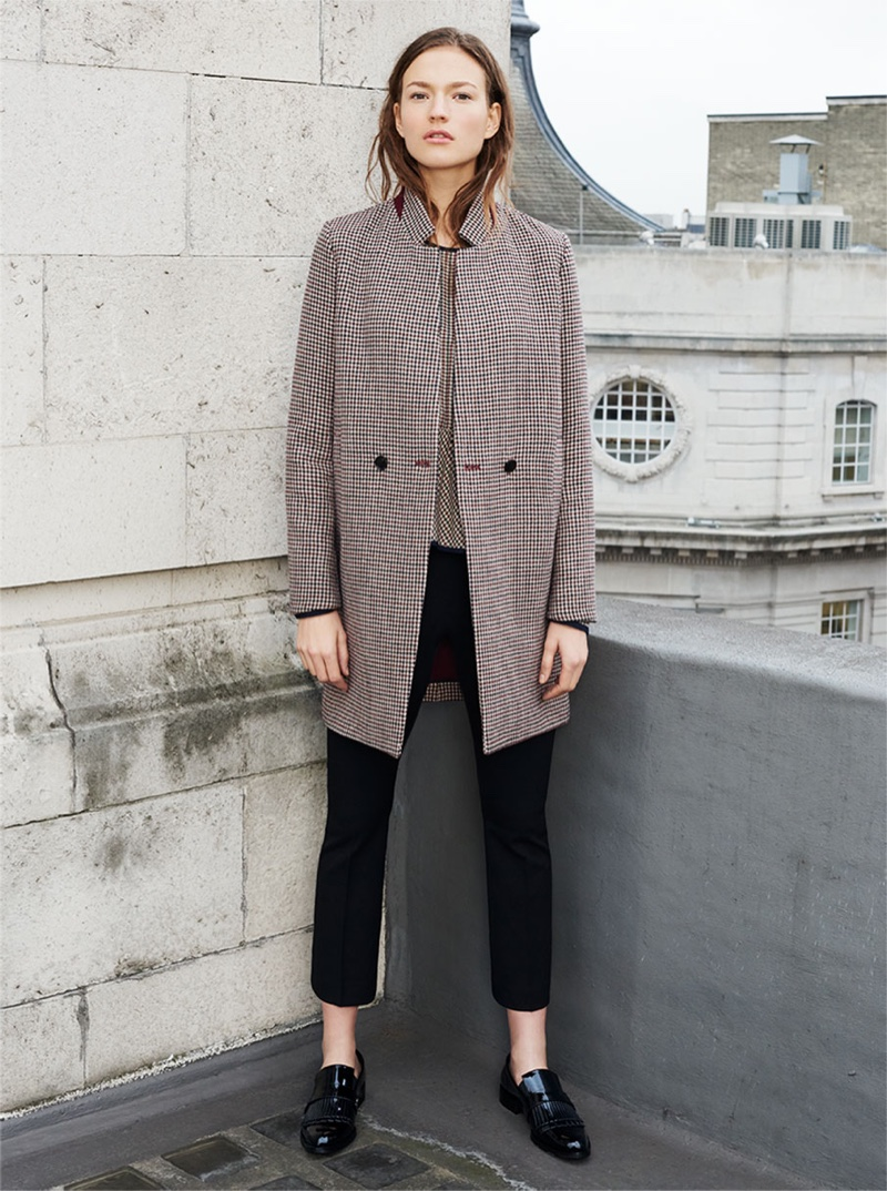 Zara Winter 2015 Coats Lookbook Fashion Gone Rogue