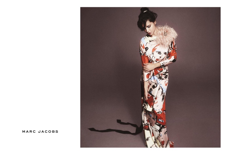 Adriana Lima stars in Marc Jacobs' spring 2016 campaign
