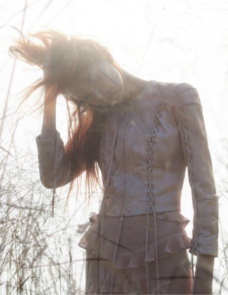 Alexander McQueen Features a Dreamy Scene for Spring '16 Ads