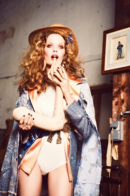 Alisa Ahmann Plays Muse for Vogue Ukraine by Ellen Von Unwerth