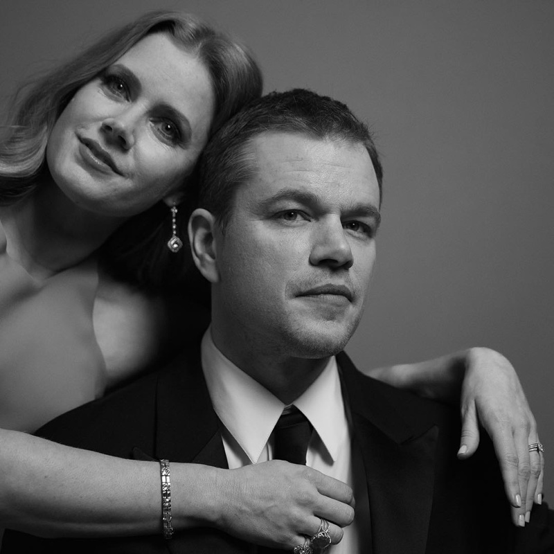 Amy Adams and Matt Damon