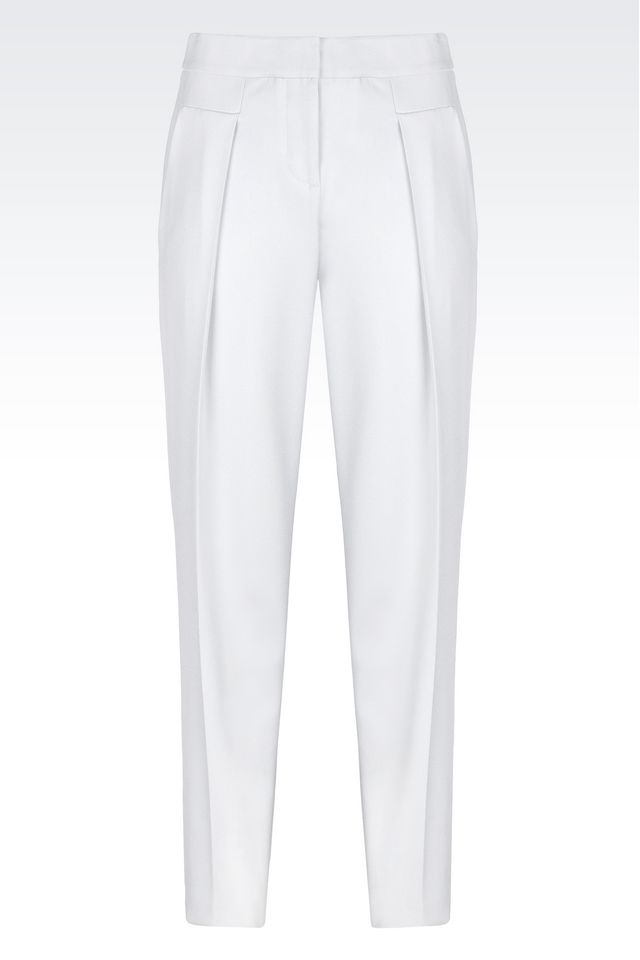 Armani New Normal Silk Trousers