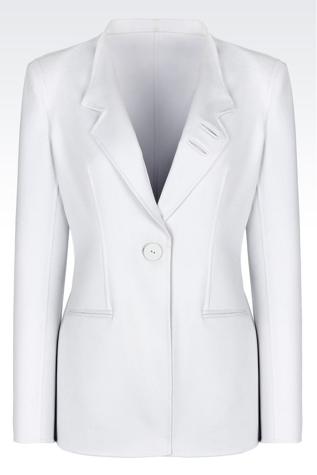 Armani New Normal Single Breasted Silk Jacket
