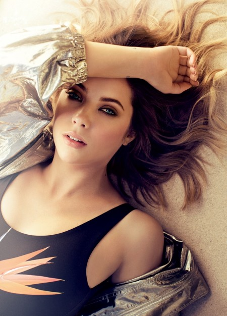Ashley Benson Poses in Pretty Little Dresses for Ocean Drive Magazine