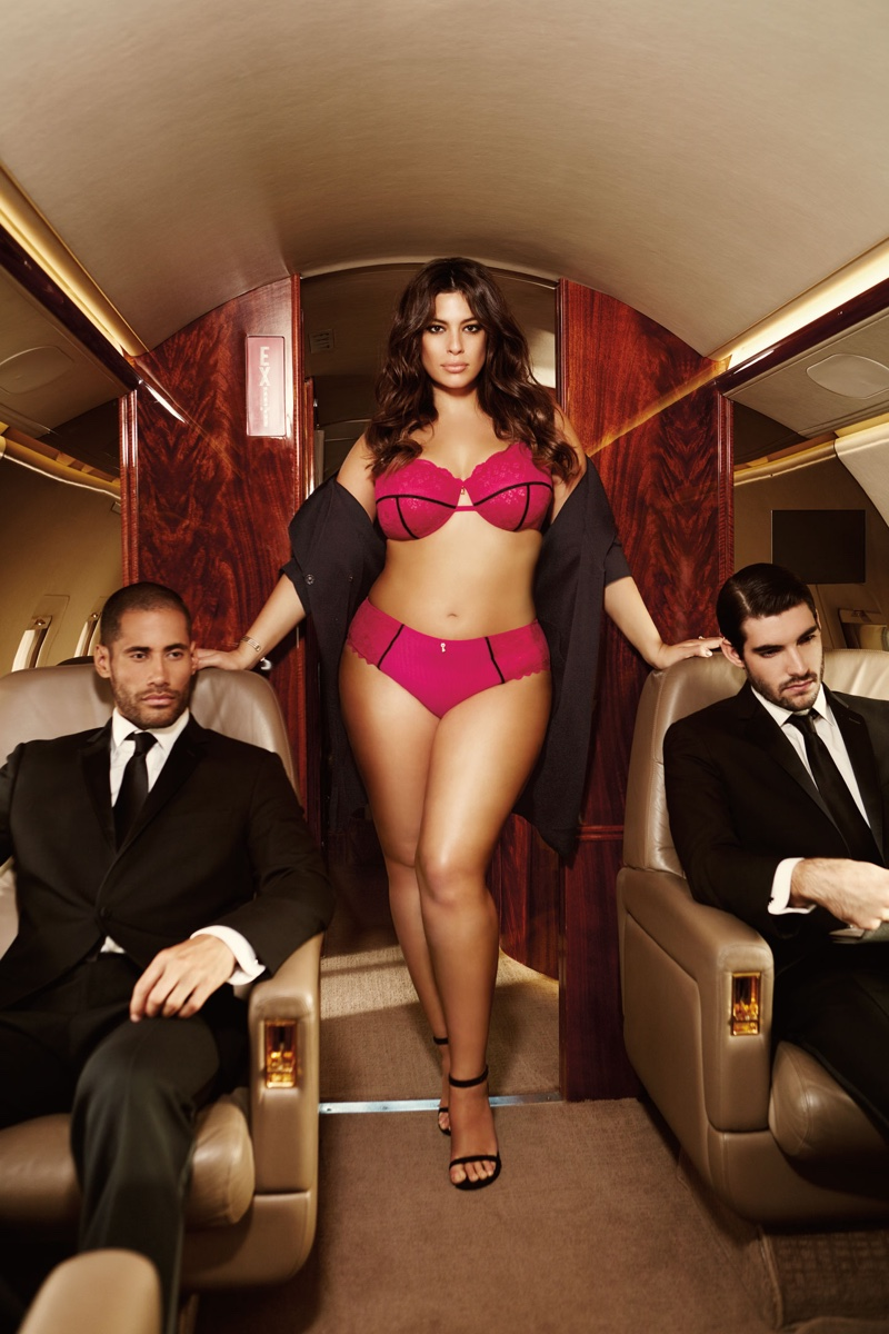 Ashley Graham stars in Addition Elle La Scala collection