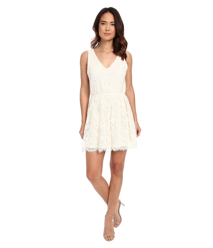 BB Dakota Ariella Scallop Edge Lace Dress
