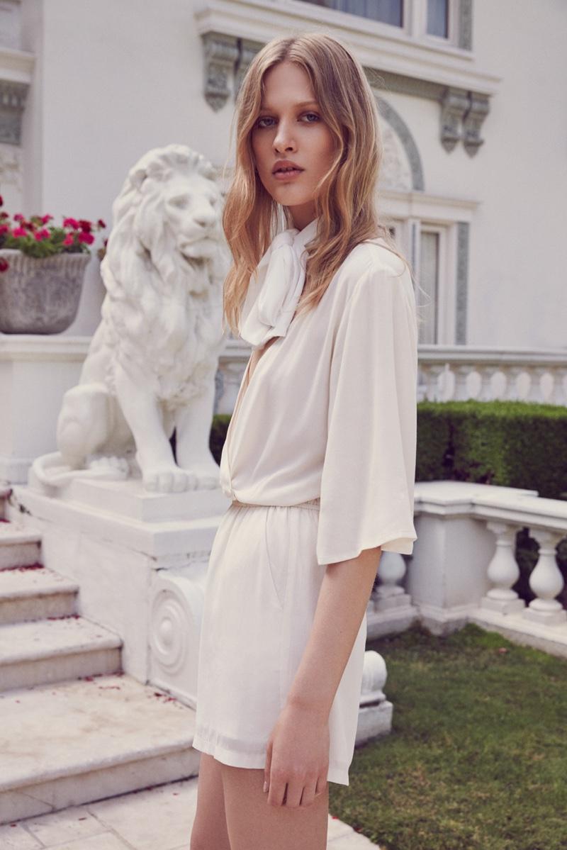 Laura Julie stars in BB Dakota's spring 2016 lookbook