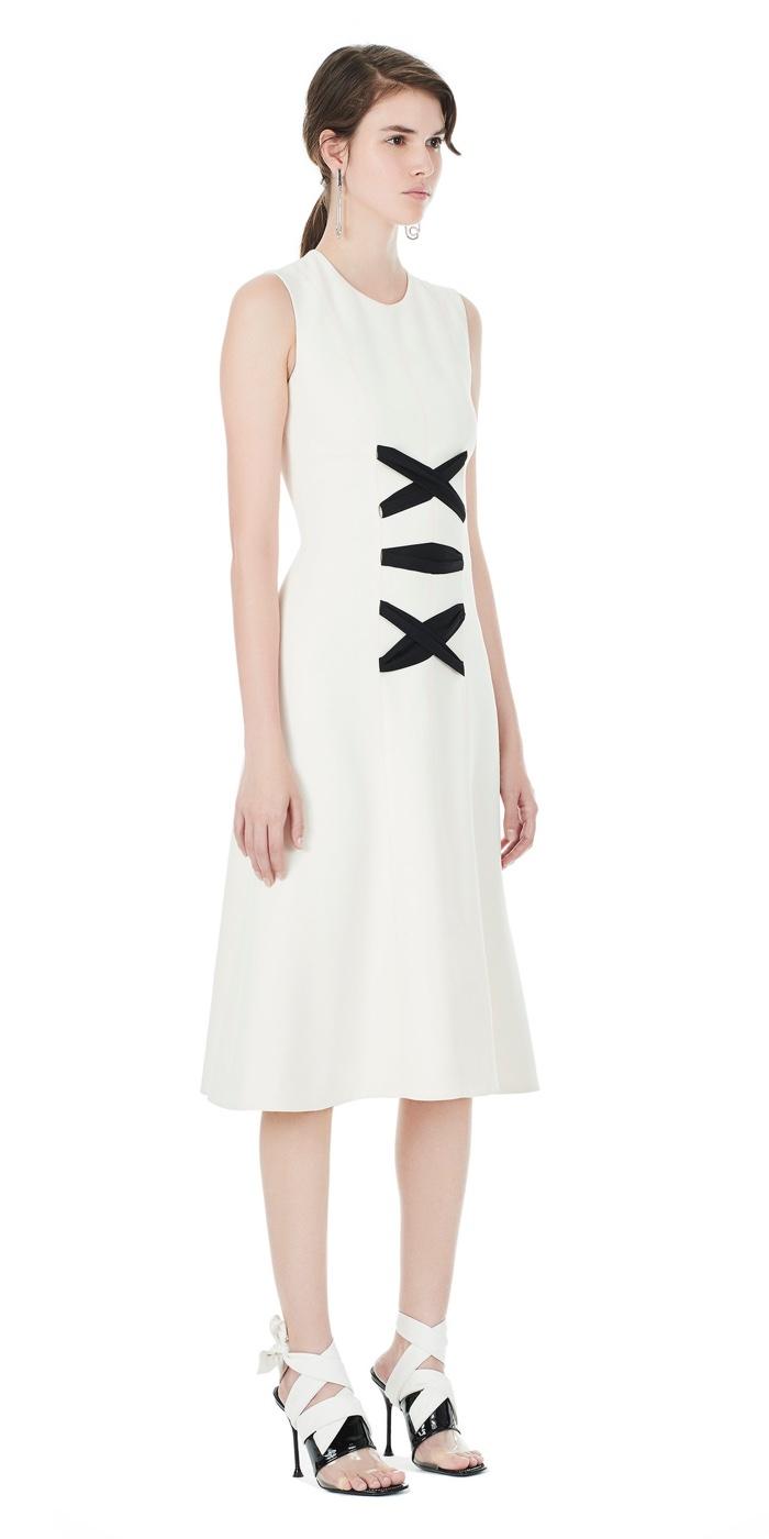 Balenciaga White Interlace Dress
