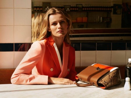 Edita Vilkeviciute Heads to London for Bally's Spring 2016 Campaign