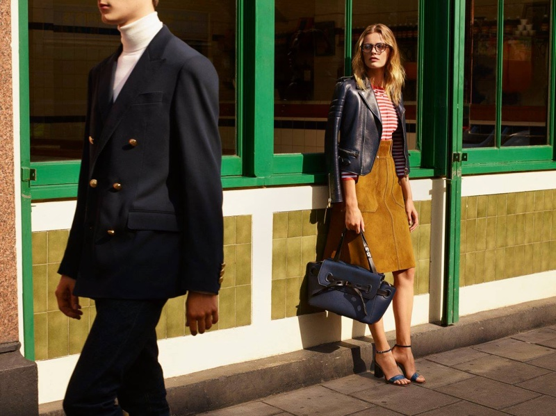 Edita Vilkeviciute Heads To London For Bally`s Spring 2016 Campaign