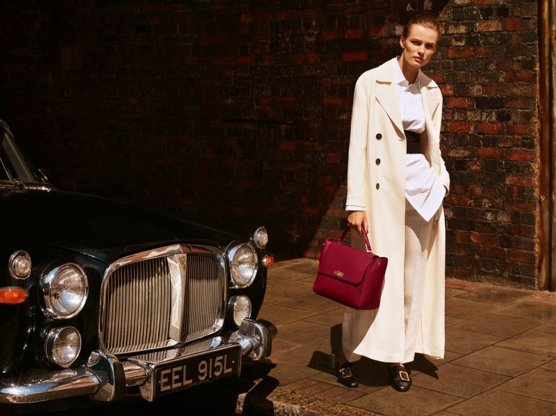 Bally's spring 2016 campaign was photographed on the streets of London