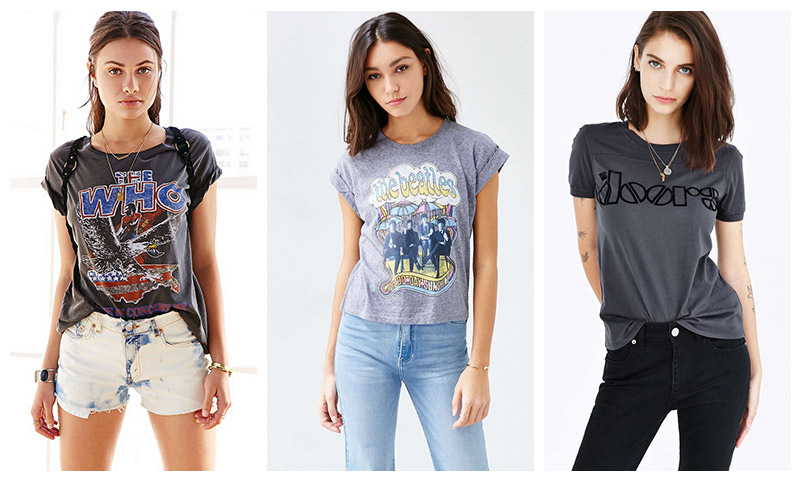 9 Band Tees for Girls  959664afb