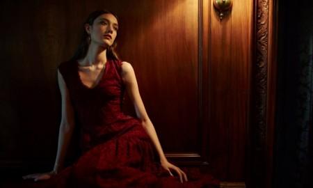 Sophia Kah Lace Gown