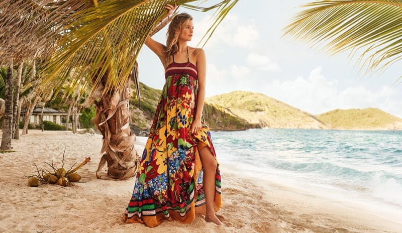 Behati Prinsloo Is An Island Babe In Tommy Hilfiger`s Spring Campaign