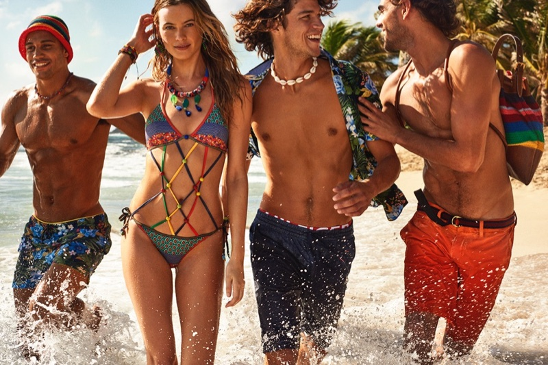 Behati Prinsloo stars in Tommy Hilfiger's spring 2016 campaign