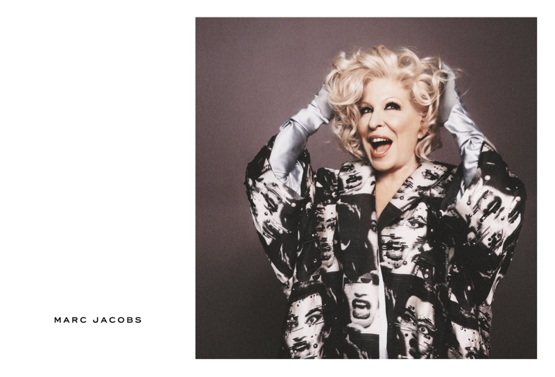 Bette Midler stars in Marc Jacobs' spring 2016 campaign