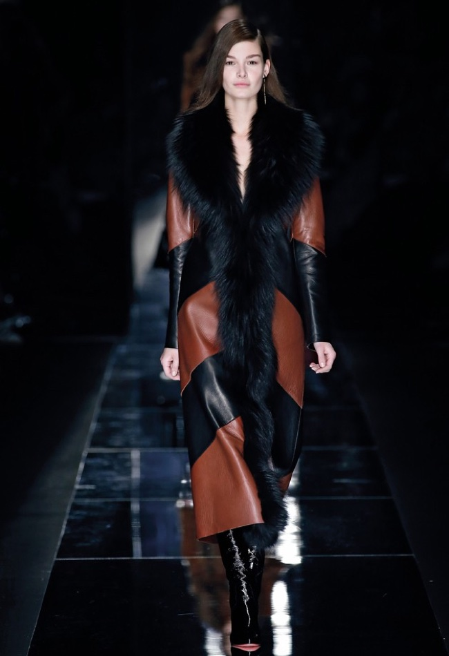 A look from Blumarine's fall-winter 2015 collection